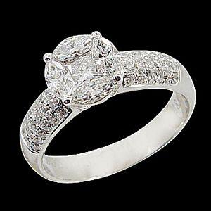 巴黎風情-花式切割鑽石