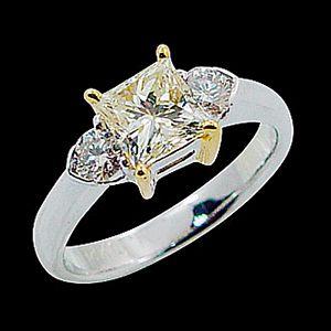 銀彩浪漫-花式切割鑽石
