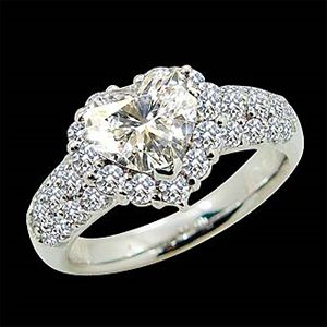 心的一生-花式切割鑽石