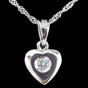 心所愛的人-鑽石墜子