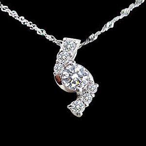 新戀情-鑽石墜子