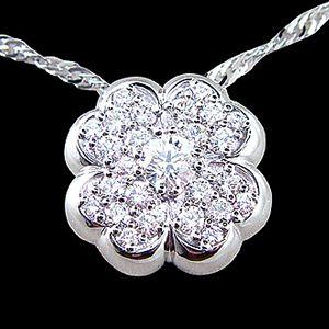 花之饗宴-鑽石墜子