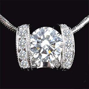 擁抱真愛-鑽石墜子