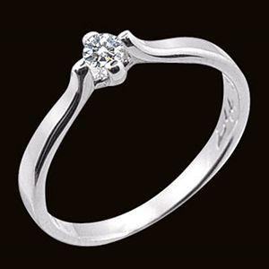 愛和承諾-求婚鑽戒
