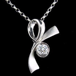 禮物-鑽石墜子