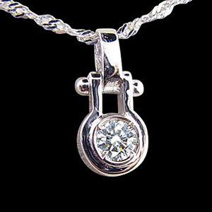 情鎖-鑽石墜子