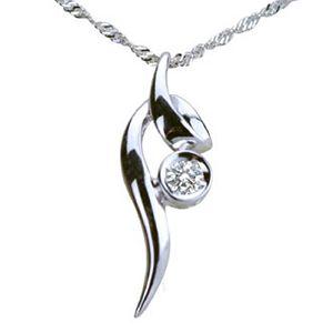 曲線-鑽石墜子