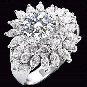 花開富貴-求婚鑽戒