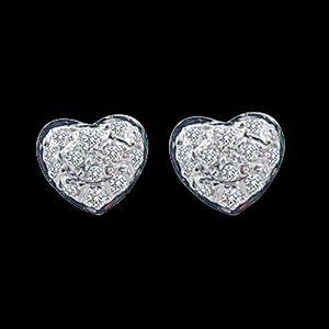 心意所屬-鑽石耳環