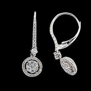 無限愛意-鑽石耳環