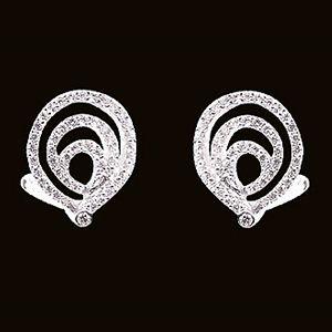 愛情漩渦-鑽石耳環