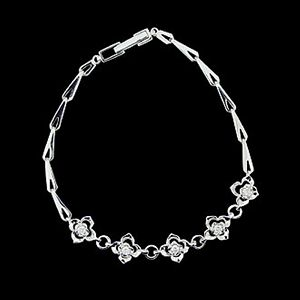 幸福花開-鑽石手鍊