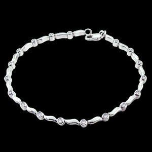 迷人-鑽石手鍊