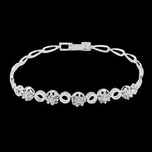 圓滿幸福-鑽石手鍊