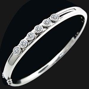 一路鑽-鑽石手環