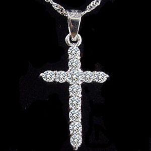 神聖的愛-鑽石墜子