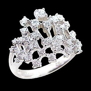 堆積情感-鑽石戒指