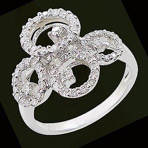 摩登-鑽石戒指