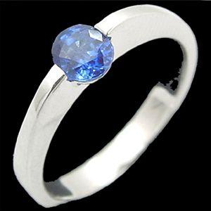 真愛-藍寶石女戒