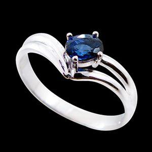 執著-藍寶石女戒
