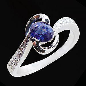 美麗的故事-藍寶石女戒