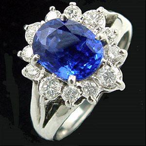 財緣-藍寶石女戒
