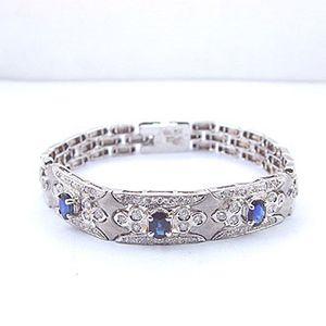鴻運之星-藍寶石手環