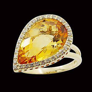 柔情似水-水晶戒指