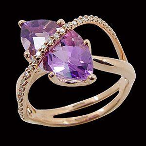 驚豔之眸-水晶戒指
