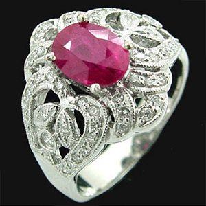 維多利亞-紅寶石戒指