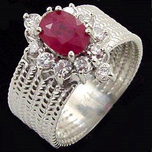 聚財-紅寶石戒指