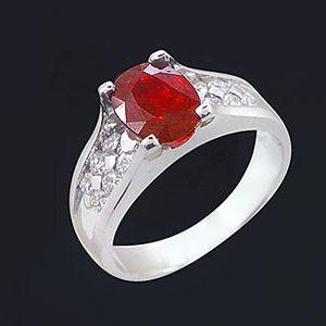 富貴雙臨-紅寶石戒指