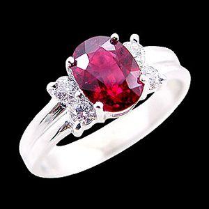 留住真情-紅寶石戒指