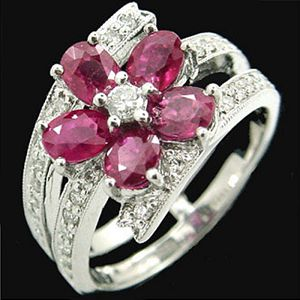 花樣年華-紅寶石戒指