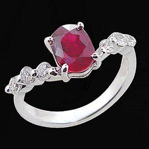 浪漫情緣-紅寶石戒指