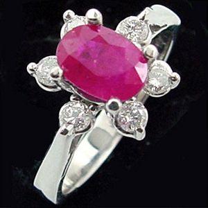 夢幻之星-紅寶石戒指