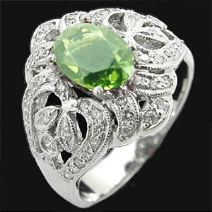 維多利雅-碧璽戒指