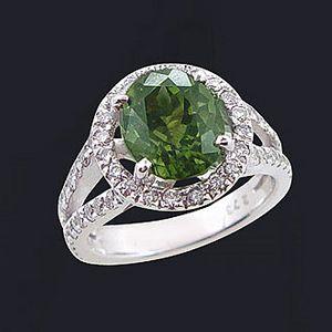 愛的魔力-碧璽戒指