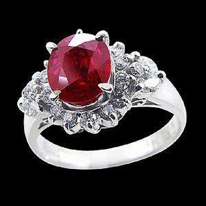 摯愛-紅寶石戒指