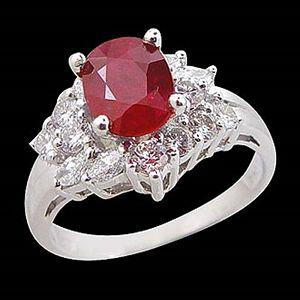 明日之星-紅寶石戒指