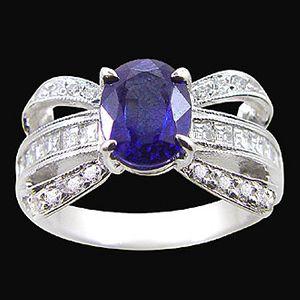 迷戀-藍寶石女戒