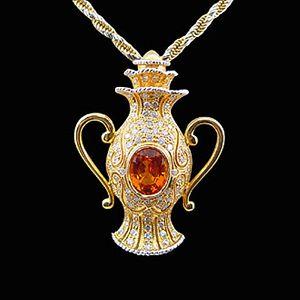 神奇寶瓶-黃寶石墜子