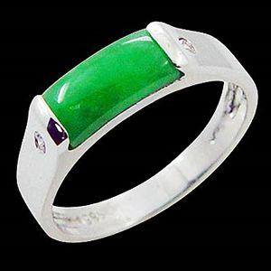 納財-玉石戒指