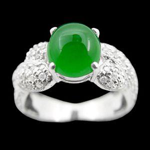 聚財-玉石戒指