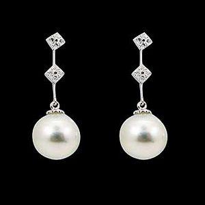 閃耀-珍珠耳環