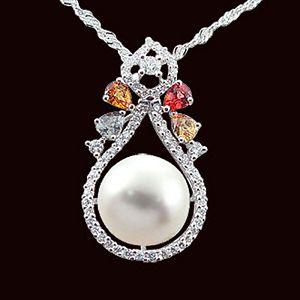 繽紛世界-珍珠墜子