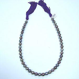 七彩-珍珠項鍊