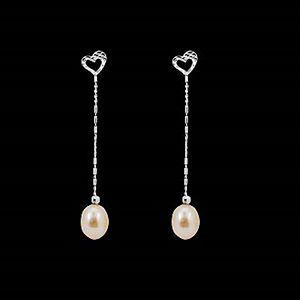 溫暖的心-珍珠耳環