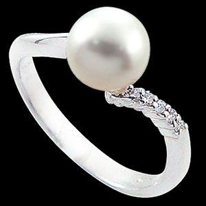 鍾情-珍珠戒指