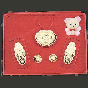 鎖片型五件式-彌月套組